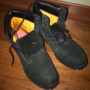 Black - Water-Proof - Timberland - Winter Boots